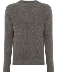 Criminal - Men's Murray Chunky Rib Jumper - Lyst