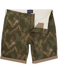 Criminal - Men's Banana Leaf Printed Shorts - Lyst