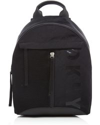 DKNY | Nylon Rubbercoin Medium Logo Backpack | Lyst