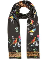 Ted Baker - Opulent Fauna Skinny Scarf - Lyst