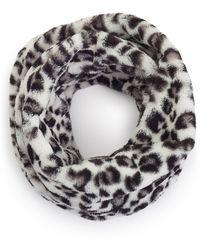 James Lakeland - Leopard Faux Fur Snood - Lyst