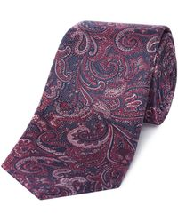 Richard James - Paisley Silk Tie - Lyst