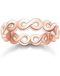 Thomas Sabo | Glam & Soul Rose Infinity All Around Ring | Lyst