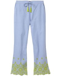 White Stuff - Beatrice Broidery Pj Bottoms - Lyst