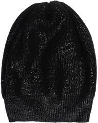 Stefanel - Pearlized Effect Wool Hat - Lyst