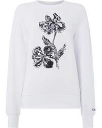 Sportmax Code - Reno Floral Print Sweatshirt - Lyst