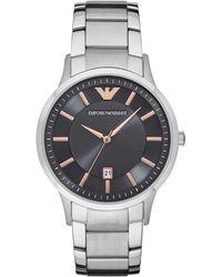 Emporio Armani - Ar2514 Renato Men's Watch - Lyst
