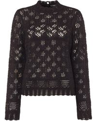 Vero Moda | High Neck Long Sleeved Blouse | Lyst