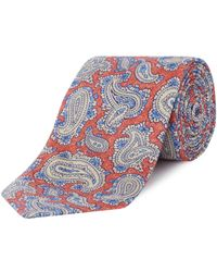 Chester Barrie - Printed Paisley Tie - Lyst