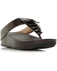 Fitflop | Cha Cha Wedge Sandals | Lyst