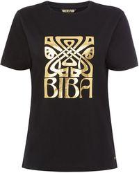 Biba - Logo T-shirt - Lyst