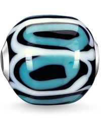 Thomas Sabo - Turquoise Glass Hand-crafted Africa Karma Bead - Lyst