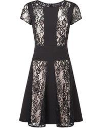 James Lakeland - Lace Contrast Dress - Lyst