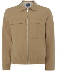 Perry Ellis | Zip-through Blouson Jacket | Lyst