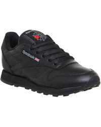 Reebok - Classic Leather Trainers - Lyst