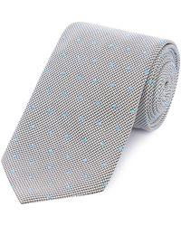 HUGO - Spot Texture Tie - Lyst