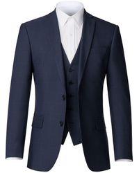 Scott & Taylor - Men's Fenton Blue Check Jacket - Lyst