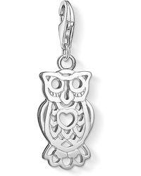 Thomas Sabo | Charm Club Owl Charm Pendant | Lyst
