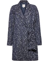 Great Plains | Connie Coating Side Tie Coat | Lyst