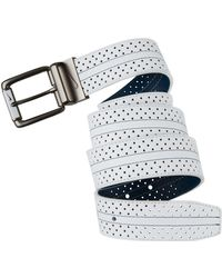 Nike - Perforated Reversible Belt - Lyst