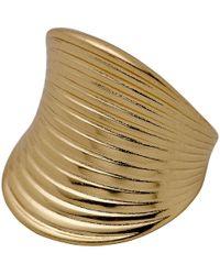 Pilgrim - Scandinavian Gold Plated Ring - Lyst