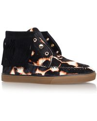 Nine West - Ballico5 Flat Lace Up Trainers - Lyst