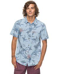 Quiksilver - Men's Shakka Mate Shirt - Lyst