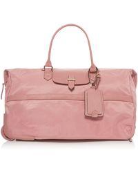 Lipault - Plume Avenue Azalea Pink Wheeled Duffle Bag - Lyst