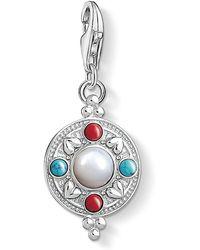 Thomas Sabo - Charm Club Lotus Coin Charm - Lyst
