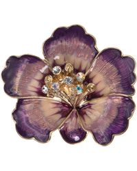 Anne Klein - Box Set Purple Flower - Lyst