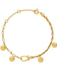 Links of London - Amulet Gold Carabiner Bracelet - Lyst