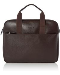 Ted Baker - Morcor Leather Document Bag - Lyst