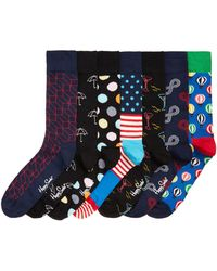 Happy Socks - Men's 7 Pack Day Of The Week Gift Box - Lyst