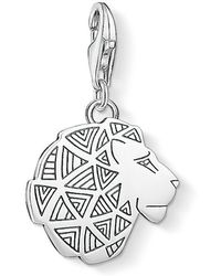 Thomas Sabo - Charm Club Lion`s Head Charm - Lyst