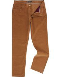 Howick - Men's Montana Five Pocket Cord Trouser - Lyst