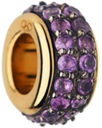 Links of London - Sweetie 18kt Vermeil & Amethyst Bead - Lyst