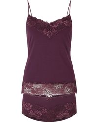 Jigsaw | Lace Knicker And Vest Set | Lyst