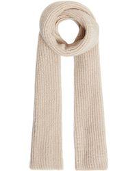 Label Lab - Layla Rib Knitted Scarf - Lyst