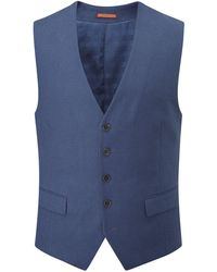Skopes - Men's Caulfield Linen Blend Suit Waistcoat - Lyst