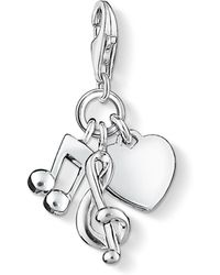 Thomas Sabo - Love Charm Club Music Charm - Lyst