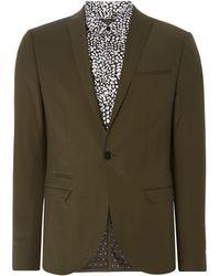 Label Lab | Rutherford Peak Lapel Skinny Suit Jacket | Lyst