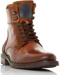 Dune | Colchester Lace Up Worker Boots | Lyst