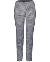 James Lakeland | Geometric Jacquard Trousers | Lyst