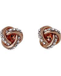 Pilgrim - Katelyn Rose Gold Plated Earrings - Lyst
