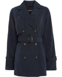 Vero Moda - Belted Dina Trenchcoat - Lyst