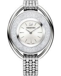 fdf343037056 House of Fraser · Swarovski - Crystalline Oval Watch - Lyst