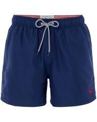 Ted Baker - Men's Danbury Solid Colour Swim Shorts - Lyst