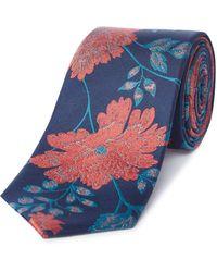 Richard James - Floral Silk Tie - Lyst