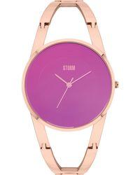 Storm - Odesa Rg-purple Watch - Lyst