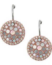 Fossil - Jf01737791 Ladies Earrings - Lyst